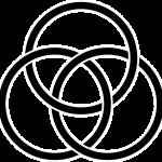 Image of Celtic symbol of three intersecting circles
