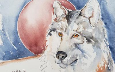 January 2019 Wolf Moon Eclipse Spirit Animal Reading