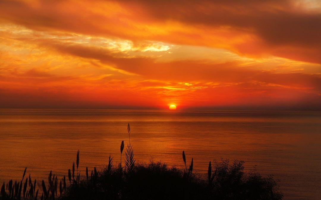 sunset photo for September 2021 equinox